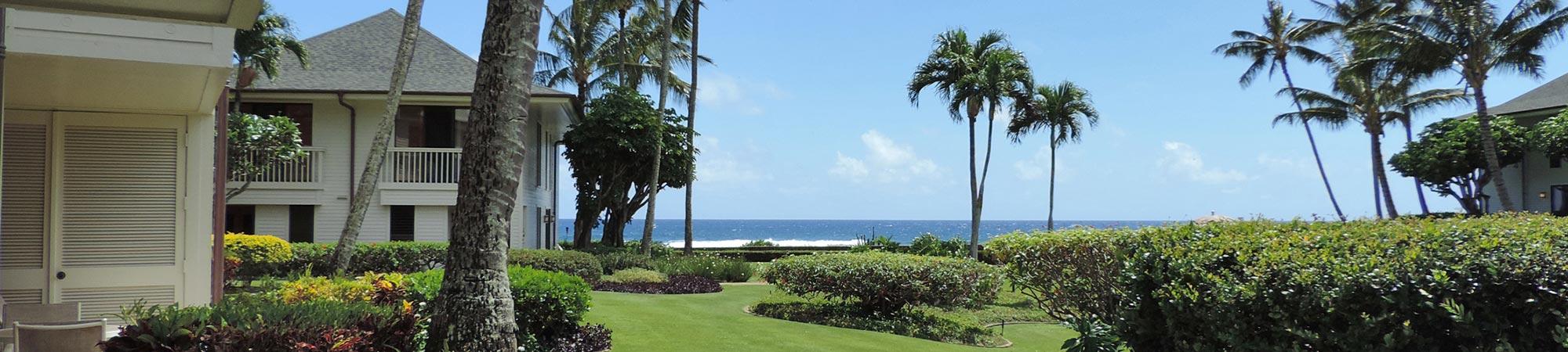 ocean view from Poipu Kapili #39 lanai