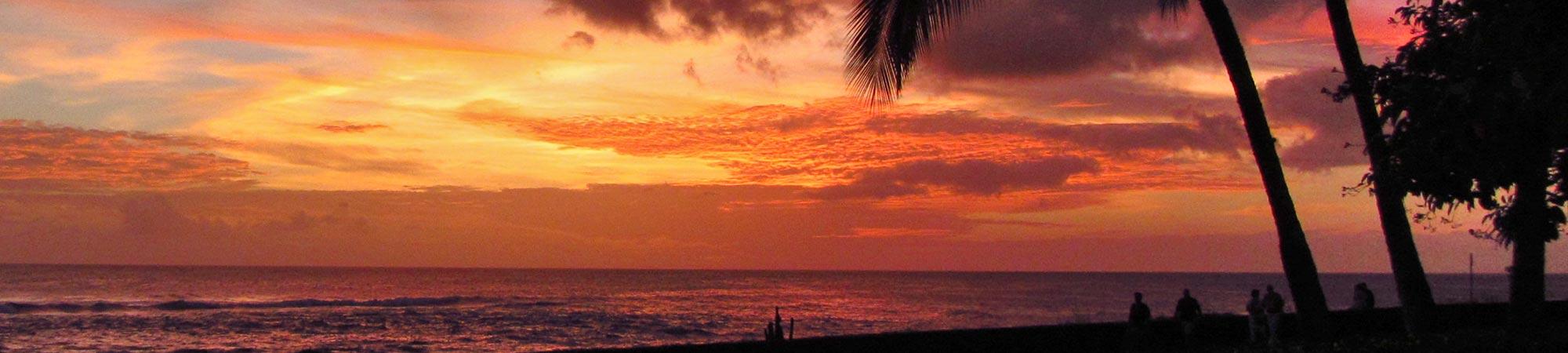 sunset from Poipu Kapili Resort
