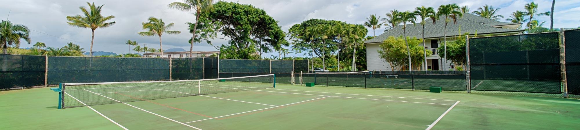 Poipu Kapili tennis court